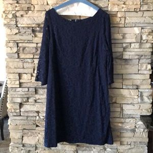Nine West Navy Shift Dress